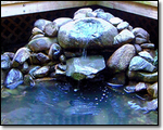 Water feature - field stone